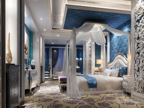 清新卧室3D模型下载