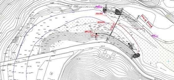 [陕西]重力式挡土墙拦砂坝工程施工图(编制于2015年)