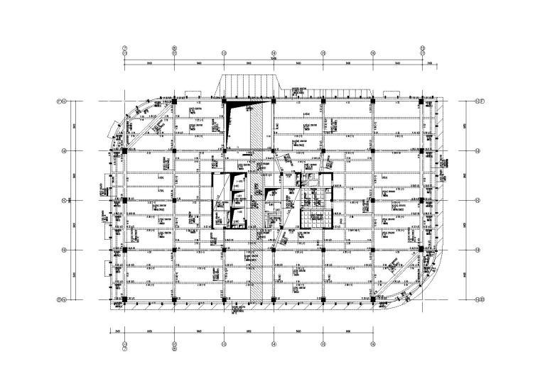 [深圳]7层框剪结构知名大厦结构施工图2013