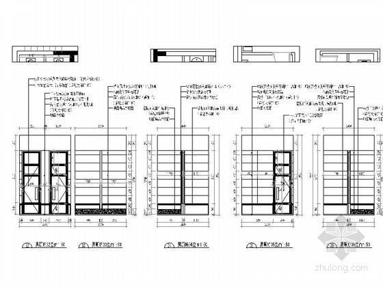 [武汉]中式风格两层售楼处室内装修图(含效果) 厕所