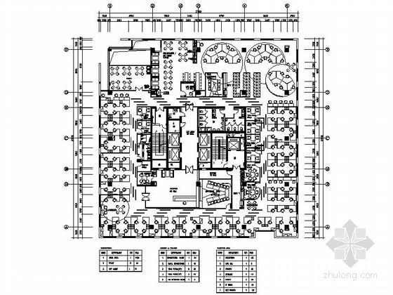 [四川]高新区软件产业基地电子科技公司办公室室内装修施工图(含效果 高端品牌 值得一看!)
