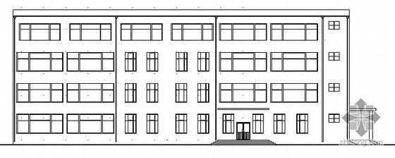 某学校学生食堂建筑设计施工图