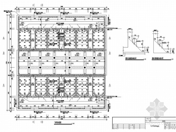 v型滤池全套施工图资料下载-[海安]V型滤池结构改造施工图