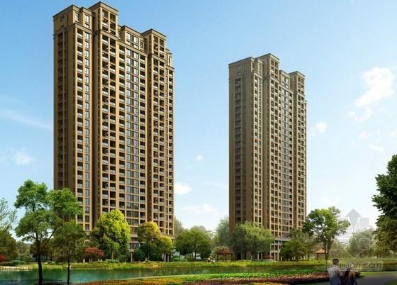 35层框架结构住宅楼建筑安装工程造价指标分析(含地下室)