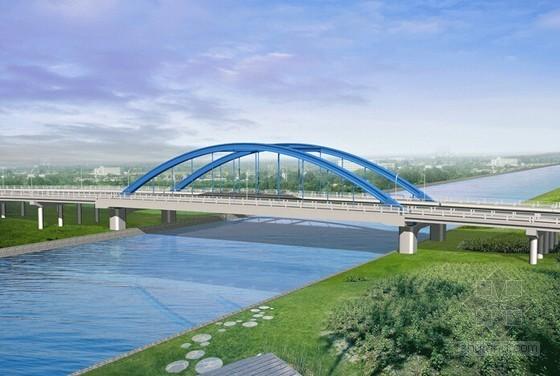 下承式钢管砼系杆拱桥钢管拱制作施工方案(69页)