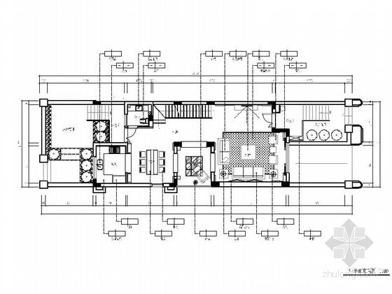 [浙江]现代中式三层别墅样板间室内装修图(含实景和效果)