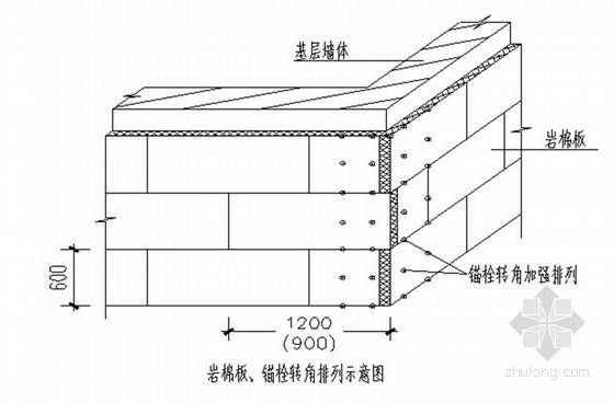 [上海]建筑工程石材加岩棉板节能保温专项施工方案