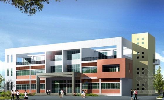 办公楼建筑工程预算书(含广联达软件应用)