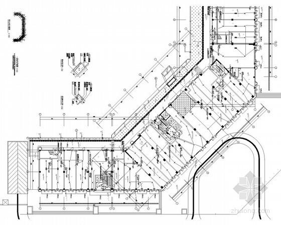[四川]商业酒店综合体电气施工图(含柴油发电机、变压器计算书)