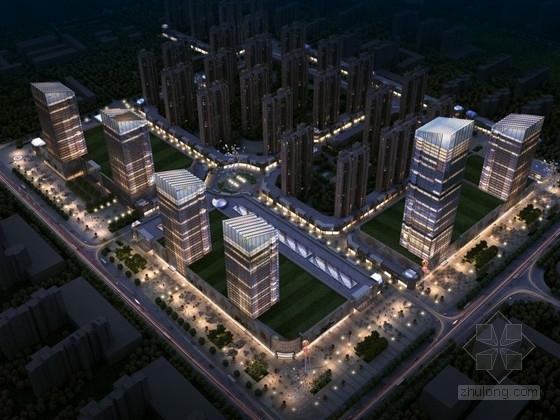 [黑龙江]城市核心区商住地块规划设计方案文本