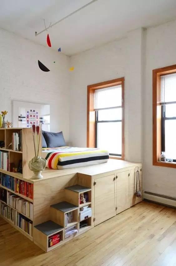 学建筑的你怎么能甘心自己的卧室和别人一样!!!_7
