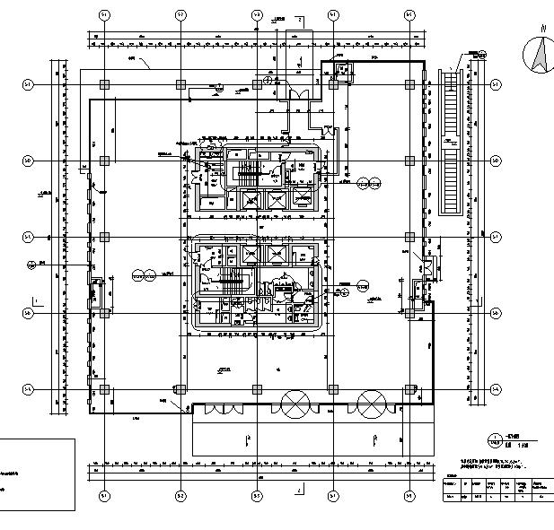 [上海]13栋结构框剪高层住宅建筑全气缸施工图专业图纸发动机图片