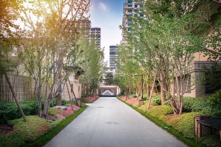 北京西宸原著住宅景观