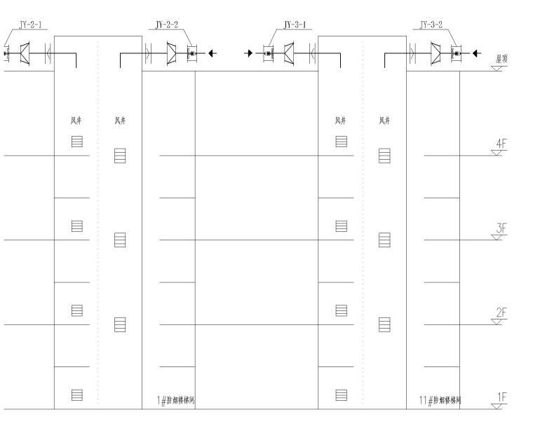 皮革城暖通全套图纸(含中央空调和地板辐射采暖)