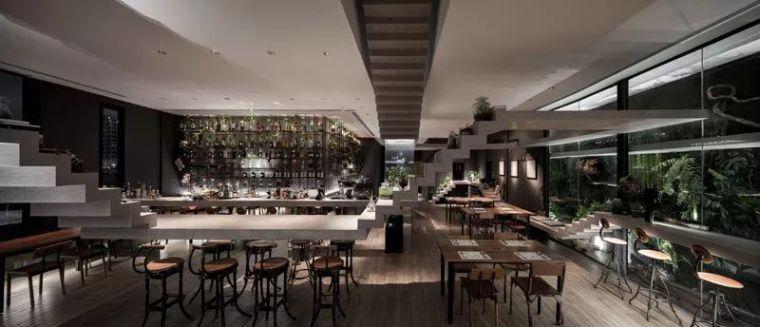 无处可去,泰国曼谷Nowhere酒吧餐厅设计
