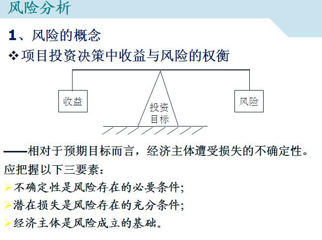 工程项目风险与不确定性分析(习题)