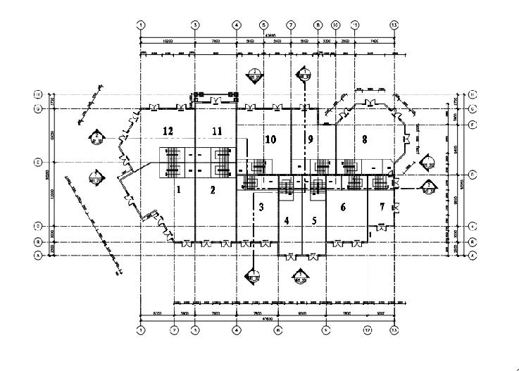 [云南]安宁温泉国际会议商业扩充设计方案文本(PDF)-一层平面图