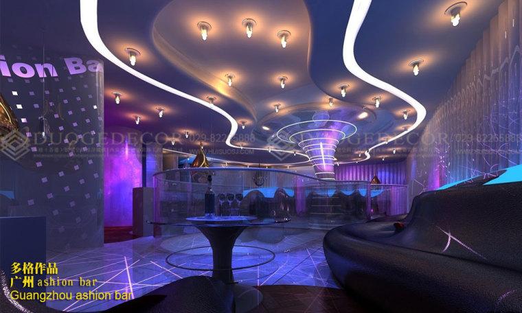 酒吧走廊背景墙的设计可以根据实际空间格局