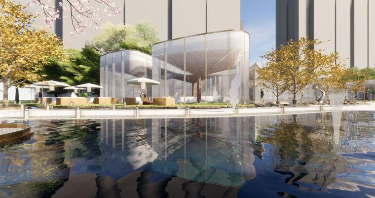 [浙江]杭州万科·中央公园售楼处示范区建筑模型设计柏涛&安道