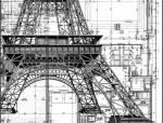 欧洲古典建筑的手绘施工图局部