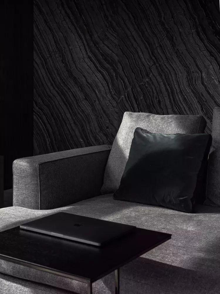 室内设计 130㎡的单身公寓,设计感十足_27