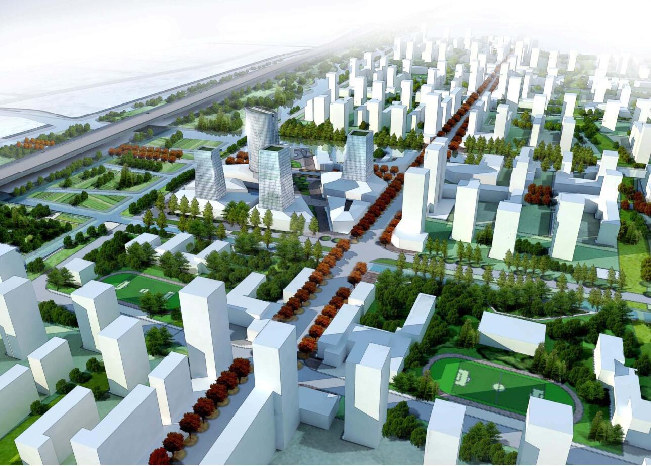 关键词: 居住区景观设计居住区示范区设计现代风格建筑设计中国上海图片