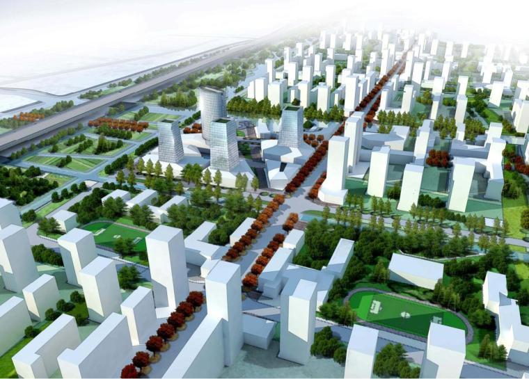 [上海]大型混合居住区景观规划文本(PDF+115页)