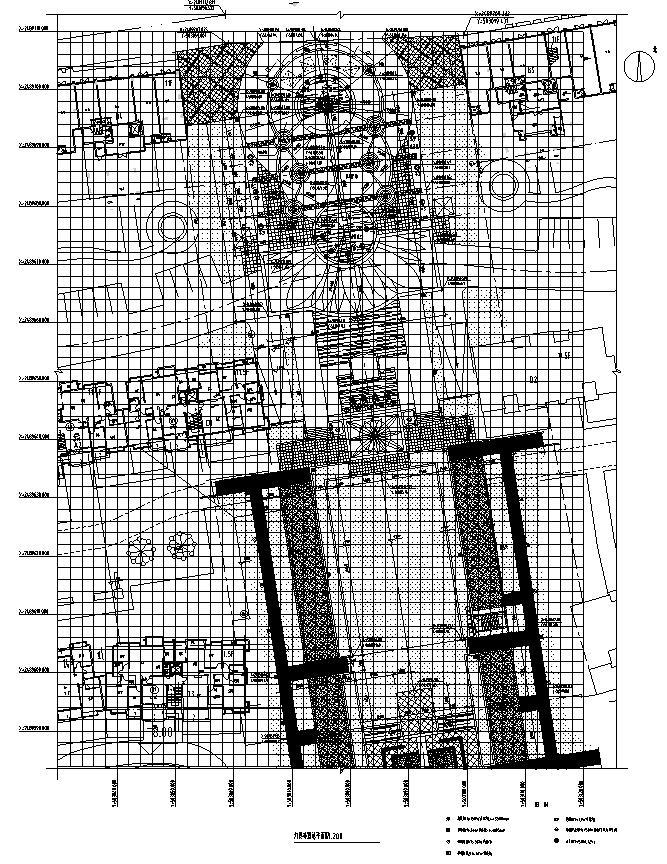 中山市朗晴轩启动区景观设计施工图一套——奥雅_2