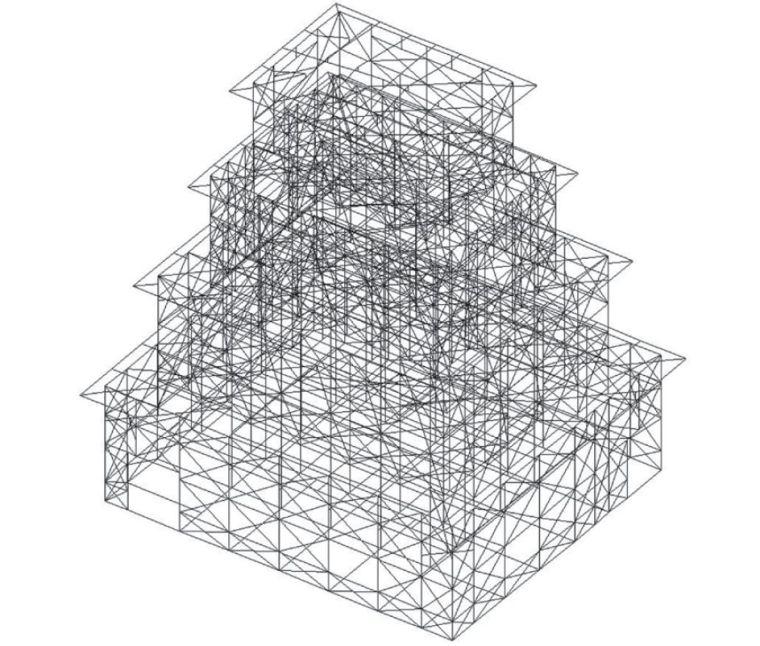 木结构建筑复原记:日本大洲城天守阁修缮_8