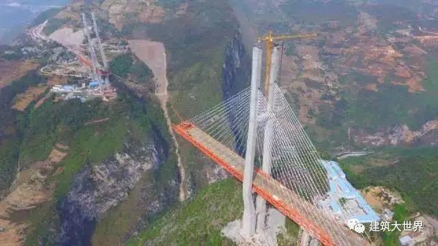 用火箭架桥!云南200层楼高的世界第一高桥!震惊世界!_4