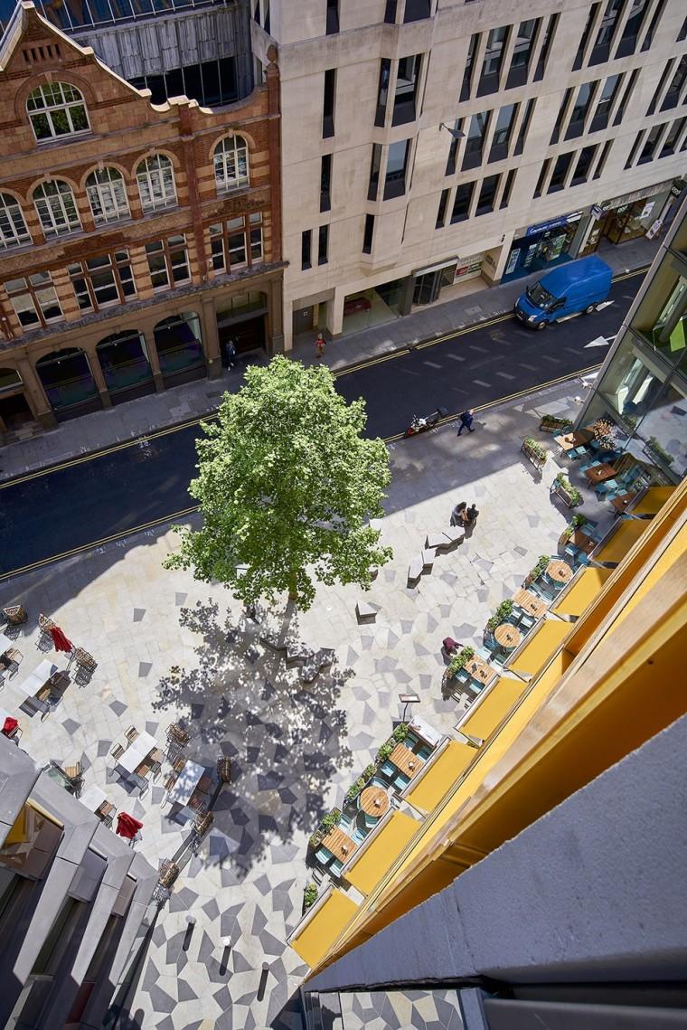 NewLudgate地块街道空间及屋顶花园-3
