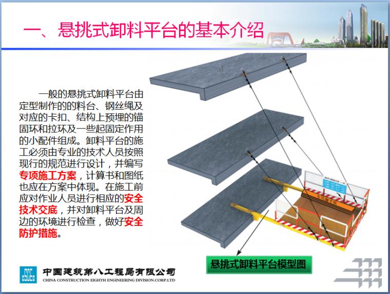 [中建]悬挑式卸料平台安全管理