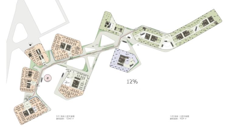 [深圳]方案状10栋超高层办公楼建筑设计简介文蝴蝶包装设计图片