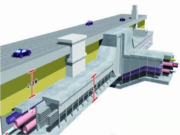 [西安]模拟地下综合管廊工程模板施工方案