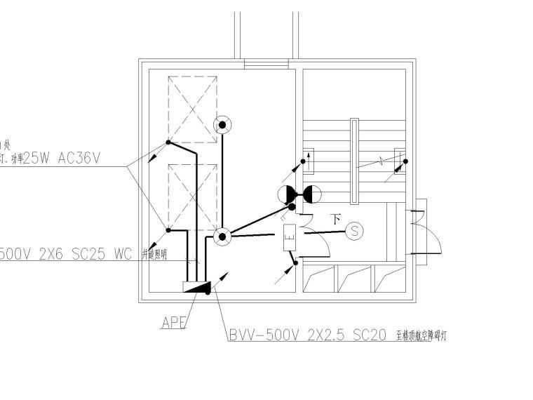 VV住宅资料下载-17层住宅电气全套图纸(含各项弱电与供配电设计)