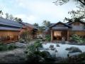 [江西]滨水山地梯田景观特色温泉小镇美丽乡村改造规划设计方案