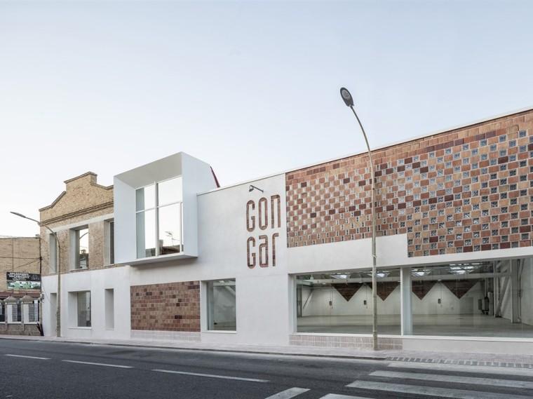 西班牙Gon-Gar旧工坊车间改造的综合体建筑-1