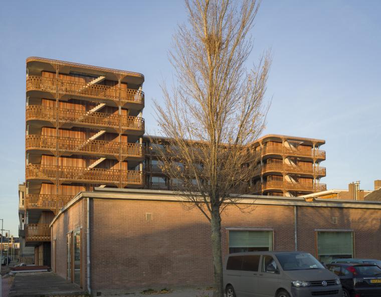 荷兰预制混凝土模块式的住宅-荷兰预制混凝土模块的住宅00
