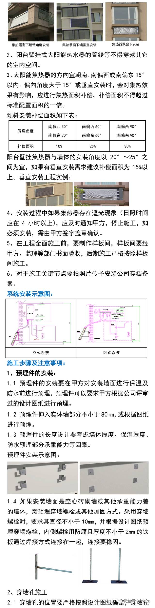 阳台壁挂太阳能热水器设计安装手册_6