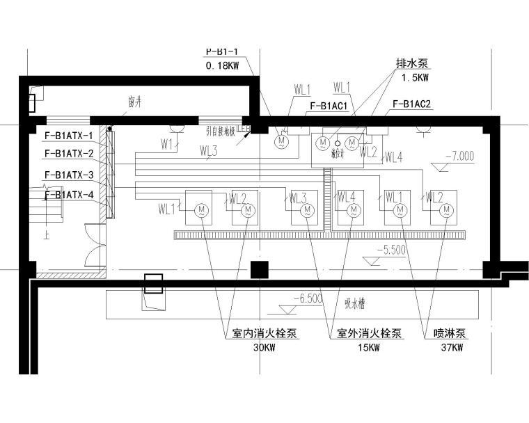[浙江]温州骏佳雷克萨斯汽车经销店附属用房电气施工图纸_4