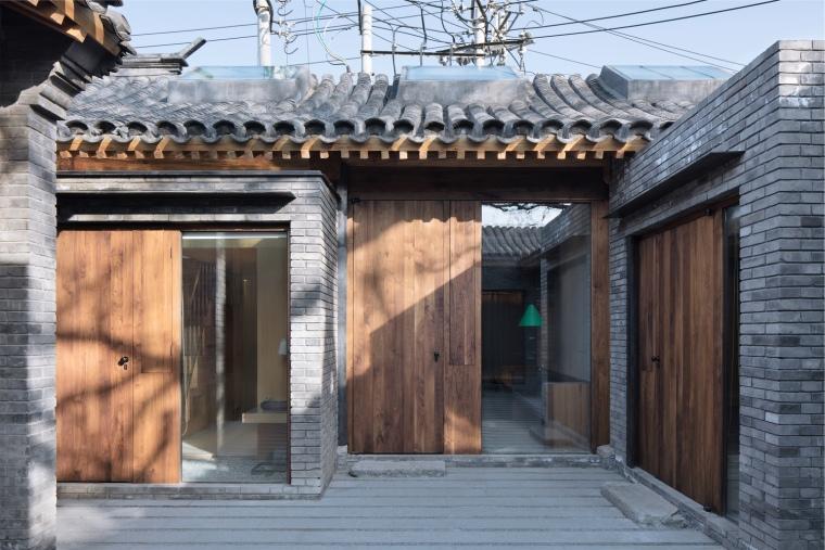 北京胡同中传统合院改造民宿