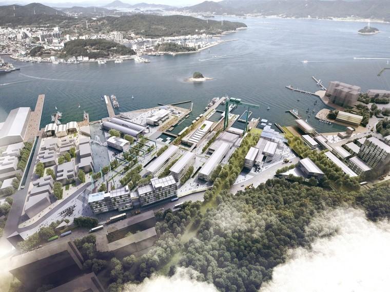 [知名设计公司特辑]走进AECOM的景观规划世界(70套资料在文末)-韩国CampMare港口城市规划-1