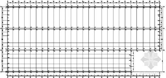 大连某二万平米容器厂钢结构厂房设计图纸
