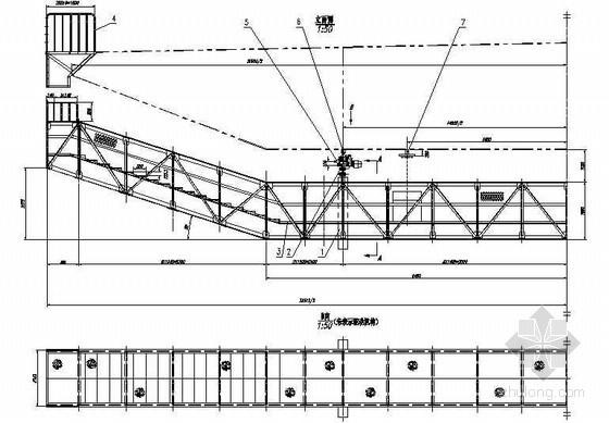 公路跨长江特大组合体系桥梁(检查车)节点详图设计