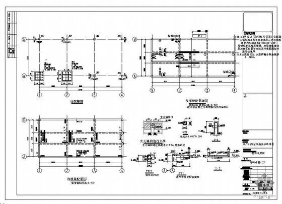 湖南某汽油发动机项目循环水泵房结构图