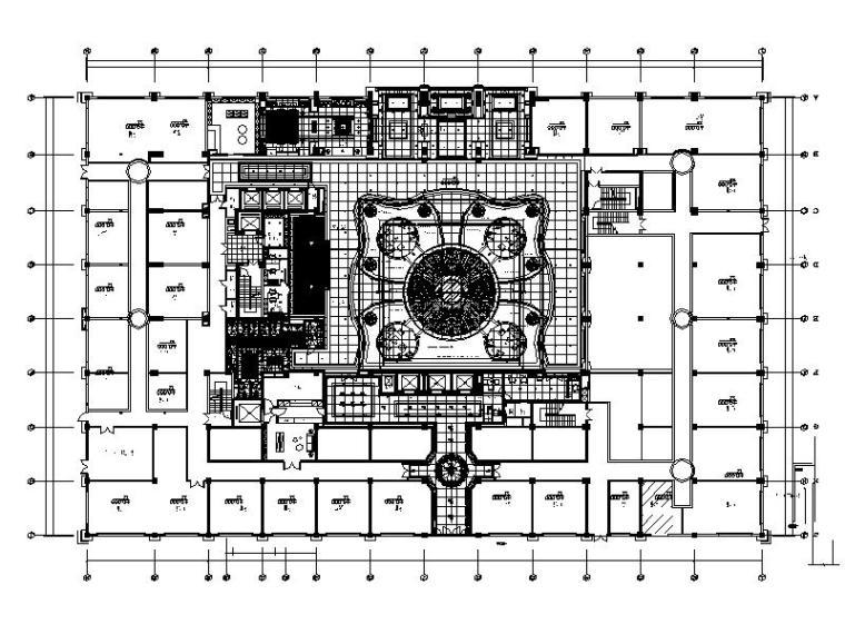[福建]资深设计师代表作品!超豪华大型酒店室内设计施工图