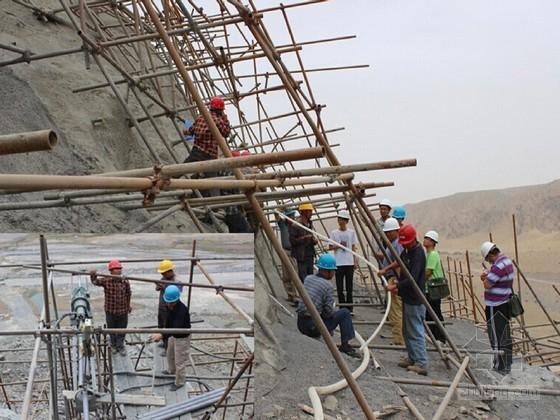 泄洪发电洞高边坡预应力锚索工程施工质量控制及管理工作报告(含超清晰工程照)