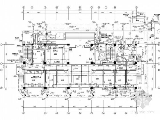 [广西]高层实验综合楼给排水施工图纸(空调排水、含计算书)