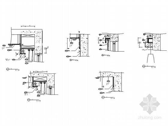 窗帘盒CAD大样图下载