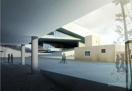 [深圳]两层清水混凝土拍卖交易中心改建设计方案文本